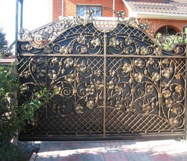 Ворота кованые ВК15