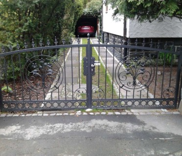 Ворота кованые ВК16