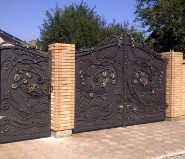 Ворота кованые ВК18