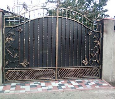 Ворота кованые ВК19