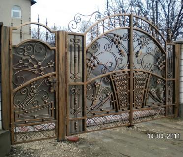 Ворота кованые ВК20