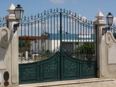 Ворота кованые ВК21