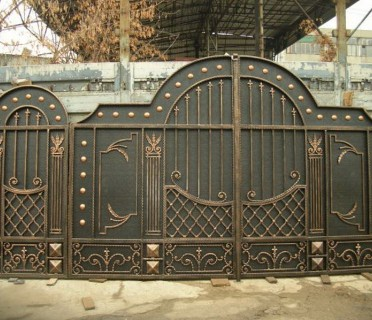 Ворота кованые ВК23