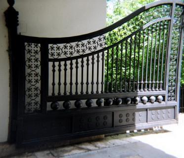 Ворота кованые ВК24