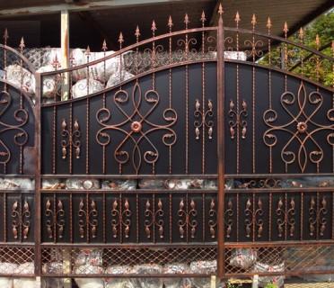 Ворота кованые ВК26