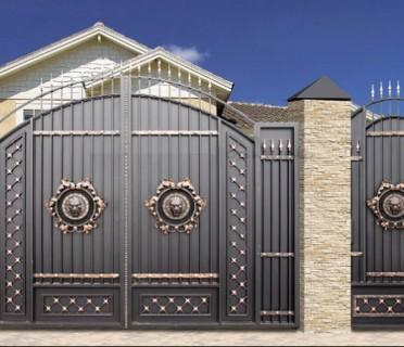 Ворота кованые ВК28