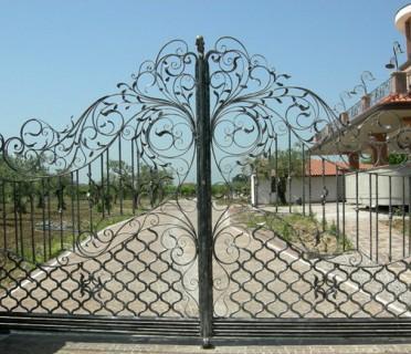 Ворота кованые ВК30