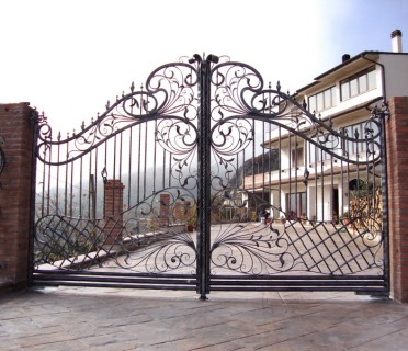 Ворота кованые ВК32