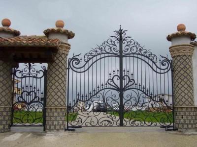Ворота кованые ВК33