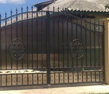 Ворота кованые ВК35