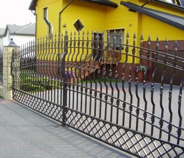 Ворота кованые ВК36