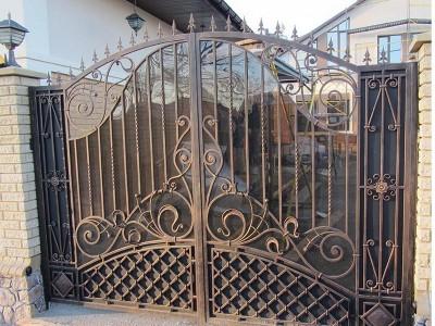 Ворота кованые ВК41