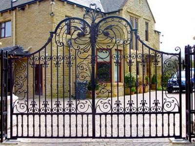 Ворота кованые ВК43