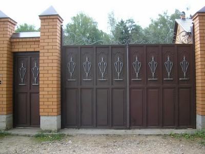 Ворота кованые ВК44