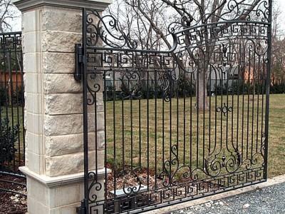 Ворота кованые ВК46