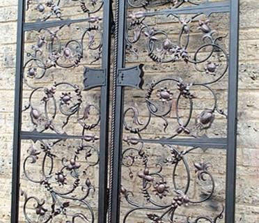 Ворота кованые ВК47