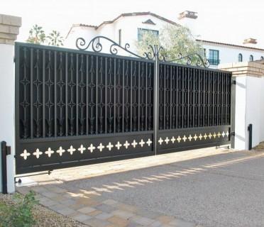 Ворота кованые ВК48