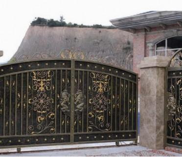 Ворота кованые ВК50