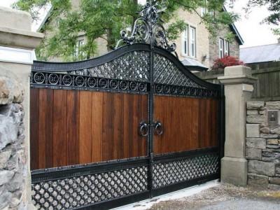 Ворота кованые ВКД06
