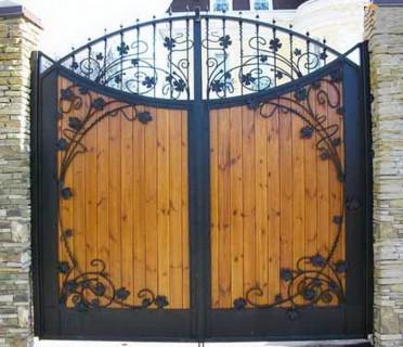 Ворота кованые ВКД07
