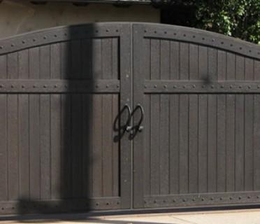 Ворота кованые ВКД10