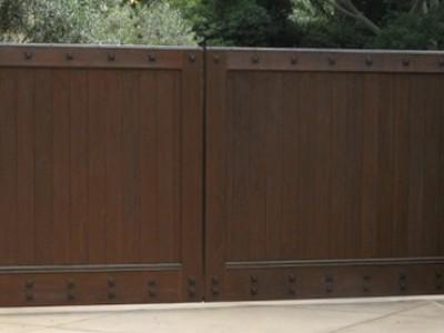 Ворота кованые ВКД11