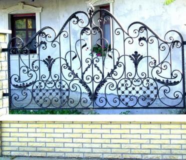 Забор кованый ЗБК01