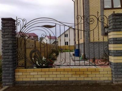 Забор кованый ЗБК03