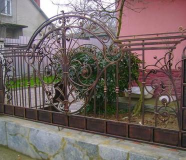 Забор кованый ЗБК05