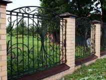 Забор кованый ЗБК08