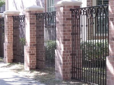 Забор кованый ЗБК12