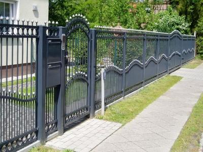Забор кованый ЗБК14