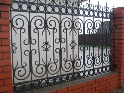 Забор кованый ЗБК17